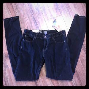 Mossimo skinny black stretch jeans 9